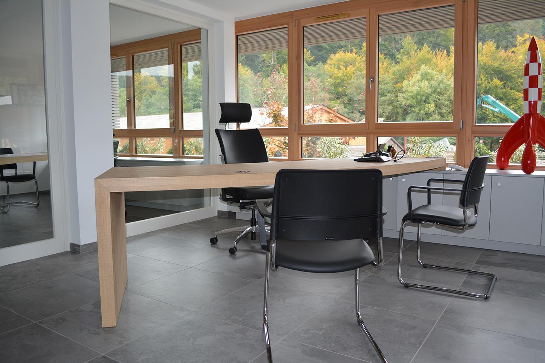 Menuiserie mettling wangenbourg espaces de travail for Espace minimum de travail